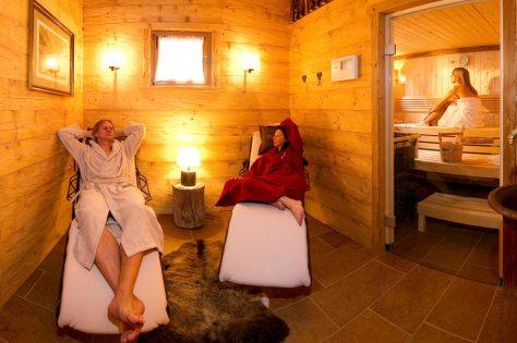 Relax Saunabereich - privat entspannen