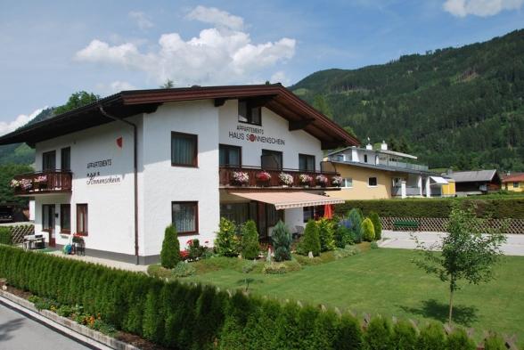 Appartements Haus Sonnenschein Garten Zell am See